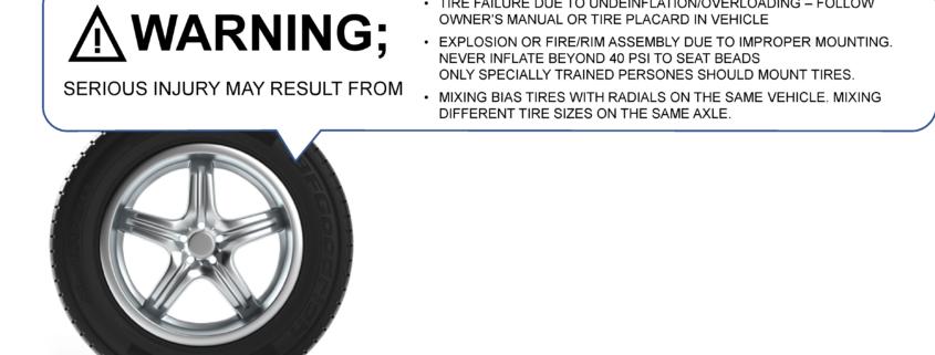 Documentación embebida en un neumático